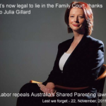 Julia-Gillard-Family-Violence-Bill-end-of-Shared-Parenting